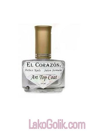 El Corazon Art Top Coat 421/25 Large Hologram