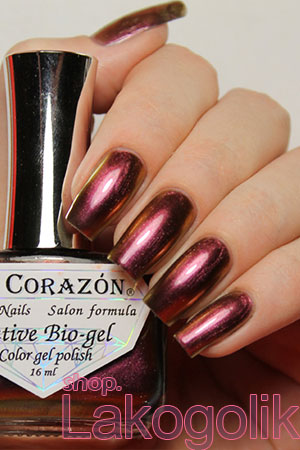 El Corazon Active Bio-gel Nail Polish Maniac 423/702 Sly fox