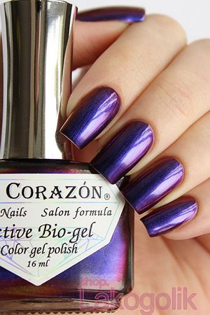 El Corazon Active Bio-gel 423/724 Polishaholic Nail polish Sphere