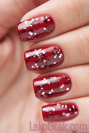 El Corazon Art Top Coat 421/19 Pomegranate Grains