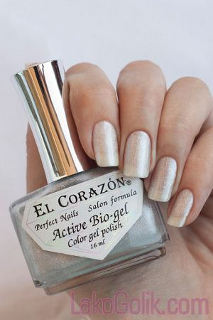 El Corazon Active Bio-gel Gemstones (Самоцветы) 423/455 Nacreous pearl